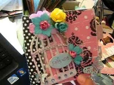 Paper Bag Mini Album for Daughter's Friend