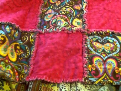Preview of my Rag Quilt Tutorial