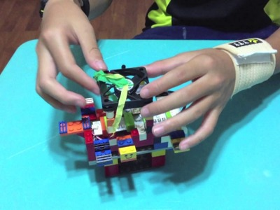 Project Bracelet (A combination of littleBits and Lego)