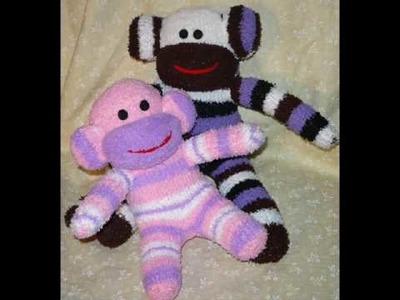 Promotion for my etsy shop,  TheMonkeyShop.etsy.com handmade sock monkey