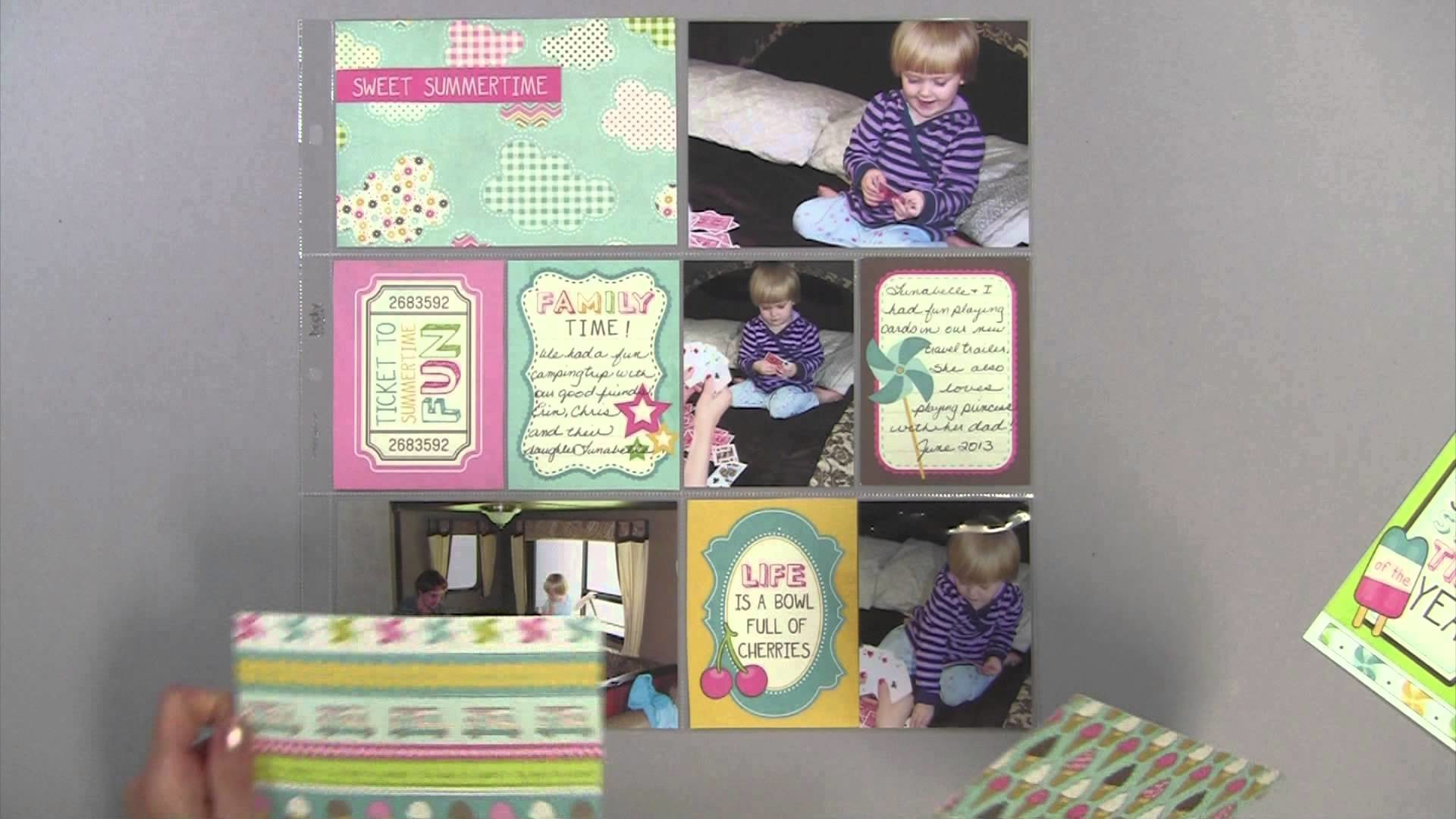 Quick and Easy 3x4 and 4x6 Journaling Cards 1