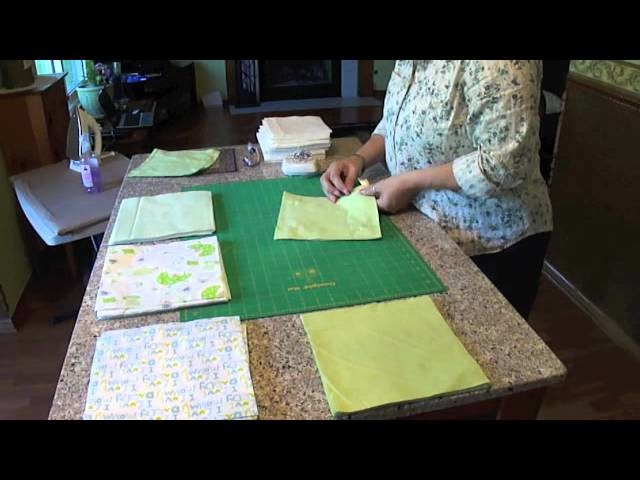 Rag Quilting Made Easy.Baby Rag Quilt Video