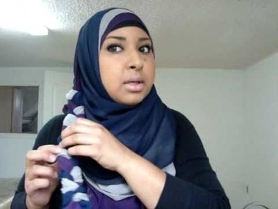 The Braid: Hijab Tutorial (Great for Fall and Winter)