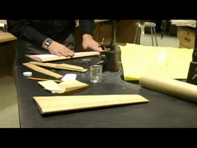 Tutorial 3: paper coating foam wings