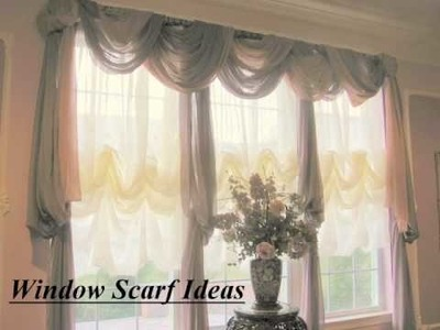 Ways to Hang a Window Scarf