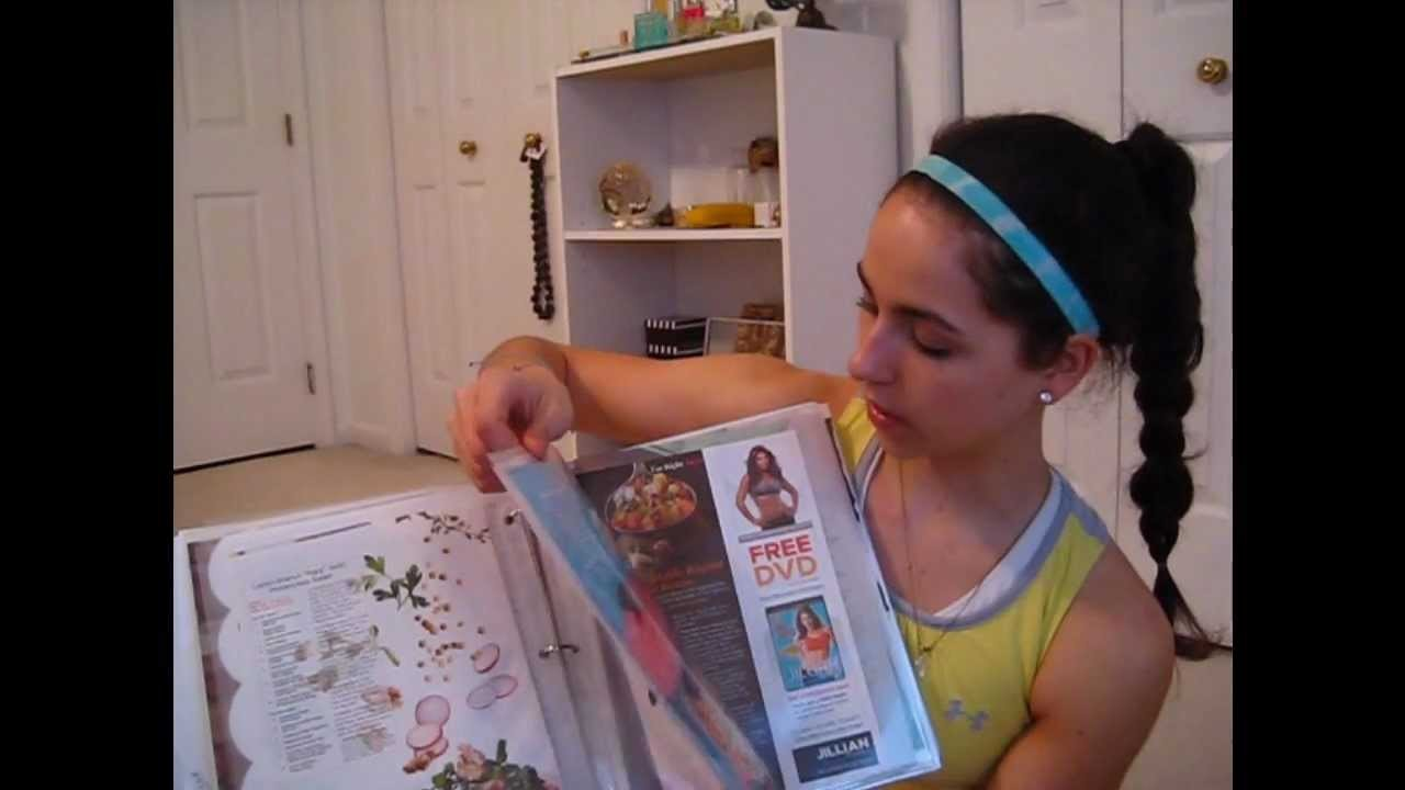 What to do with Fitness magazine clippings!- MY FITNESS BINDERS!!!!