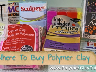 Where To Buy Polymer Clay