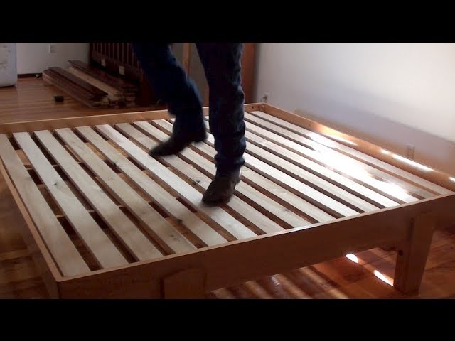 02 How To Build A Bed • Platform Bed Assembly