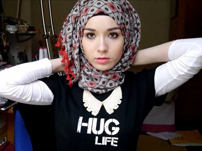 3 Easy Summer Hijab Tutorials