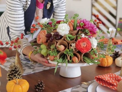 A Sweet Way to Decorate Your Dining Table for Guests