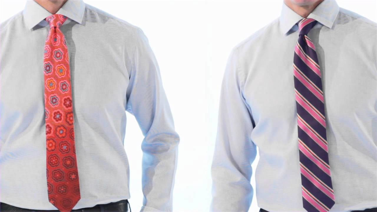 Ask Harry: How To Mix & Match Your Shirt and Tie by Harry Rosen