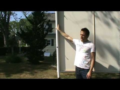 Calico DIY: How To Make an Outdoor Movie Screen