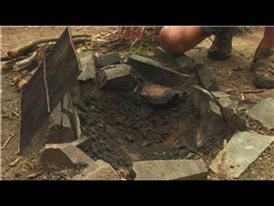 Camping & Backpacking : How to Make a Fire Pit