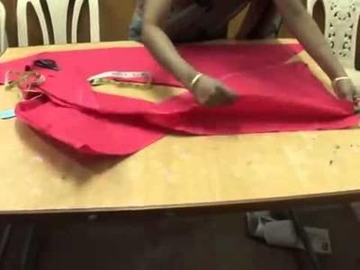 Chudidar cutting   simple and easy method