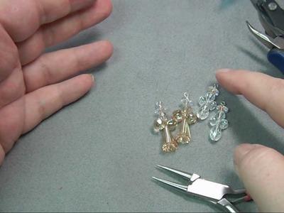 Crystal Angel Earrings Video Tutorial
