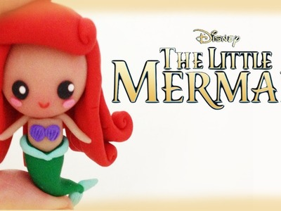 Disney Ariel Little Mermaid Polymer Clay Tutorial