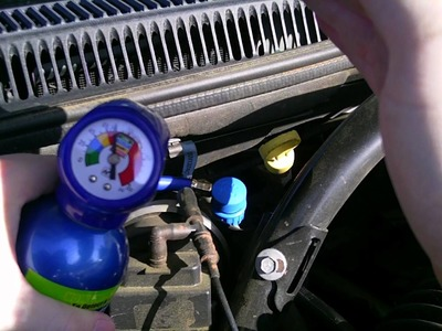 DIY: Recharging the A.C system in your Jeep