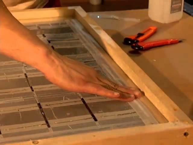 DIY Solar Panels How to Solder the solar cells part 4 Solar Cell Mounting for PV photovoltaic