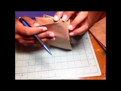 Double Dos Paper Bag mini album -tutorial- something different!