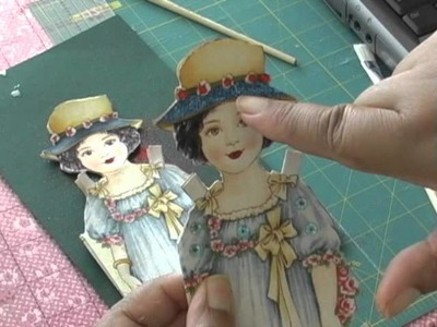 Fabric cards - how to make cards with paper and fabric
