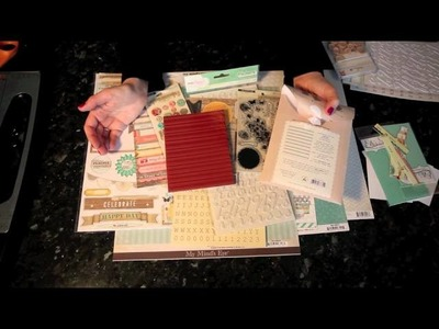 Glitter Girl Adventure 008: Pick a Pack of Patterned Paper