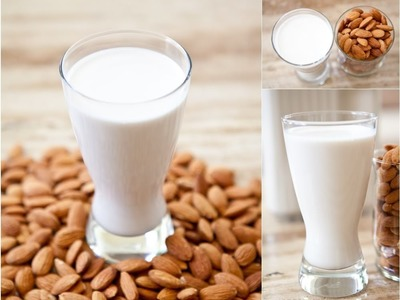 How I Make Raw Almond Milk At Home