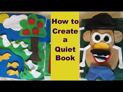 How to create a Children's Quiet Book