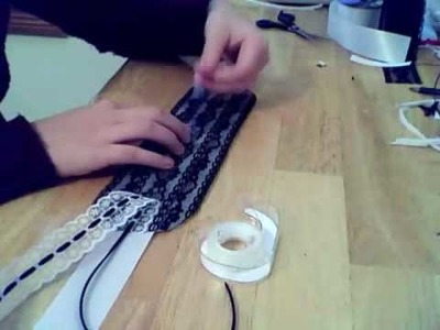 How to make a hair dress: Gothic Lolita Style