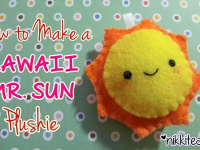 How To Make a Kawaii Mr. Sun Plushie!