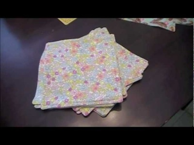 How to: Make Cloth Wipes