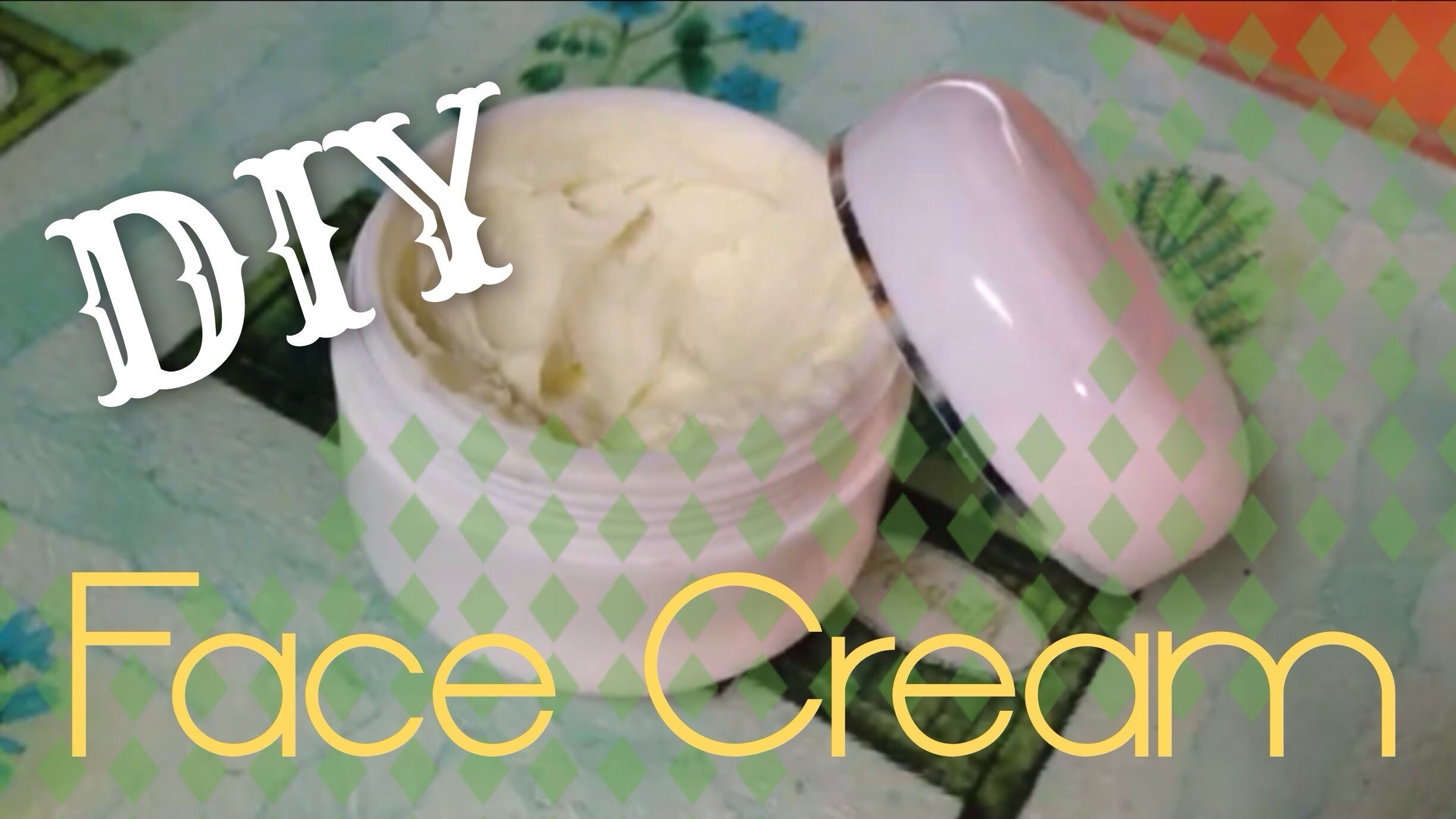 How to Make Face Cream