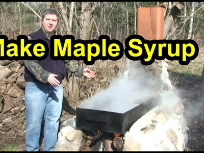 How To Make Maple Syrup - Boiling & Finishing (Part 2)