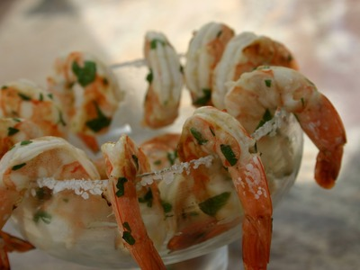 How To Make Margarita Shrimp on the BBQ by Rockin Robin