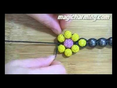 How to make shambhala bracelets 02