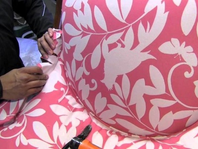 How To Upholster A Side Chair 4 Inside Back