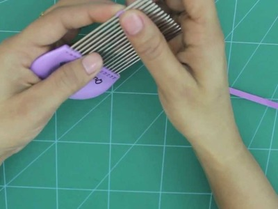 How to Use Quilling Comb
