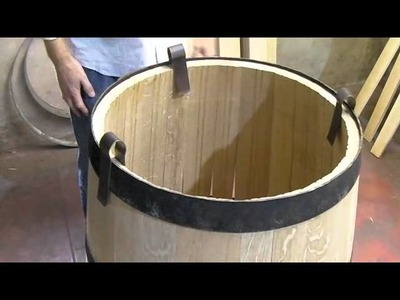 HOW wine barrels are made and toasted