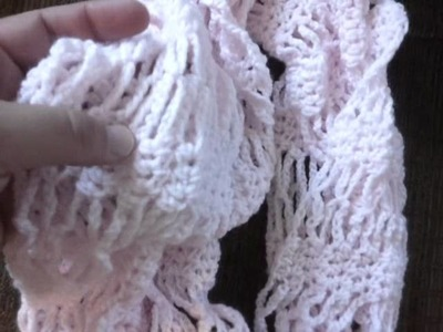 Item of the day. lacy cowl (infinity) scarf!!