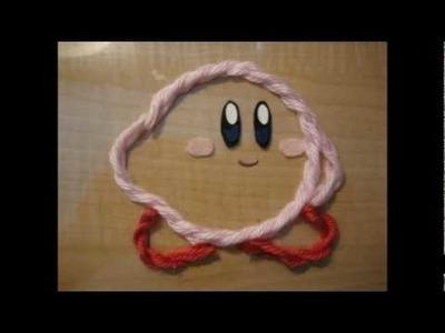 [Kirby's Epic Yarn] Making of Real Yarn Kirby (Fan Art)