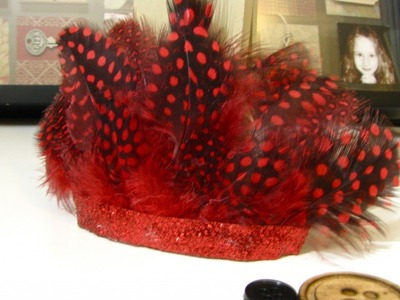 Make A Fast Feathered Fascinator Clip