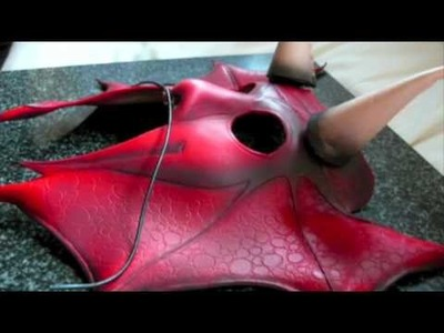 Making a leather mask