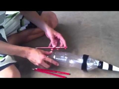 Plastic bottle rocket tutorial