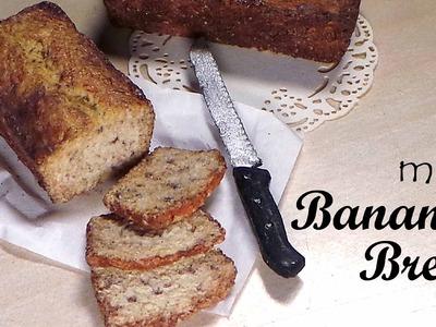 Polymer Clay Banana Bread - Miniature Food Tutorial