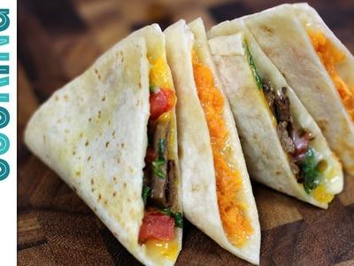Quesadillas Three Ways - How to Make Quesadillas