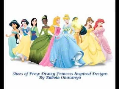 Shoes of Prey: Disney Princess Inspired Designs