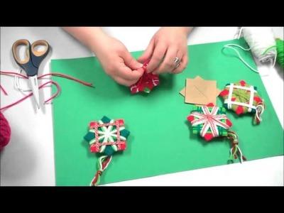 Simple handmade Christmas ornament