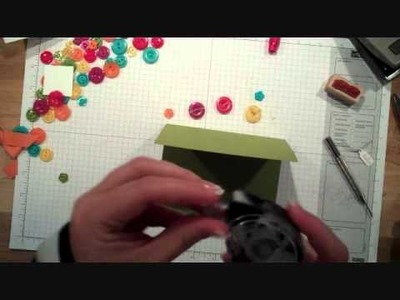 Stampin' Up! Buttons, Making Them Your Focal Point