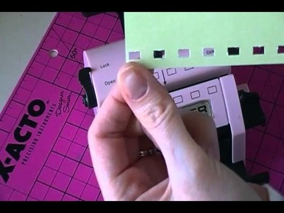 Tidbit Tutorial - How To Make a Punching Template Using the Bind It All
