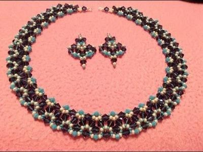 Triangular Glam Necklace Tutorial