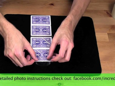 TUTORIAL - How to Make a Wallet out of Playing Cards 2.0